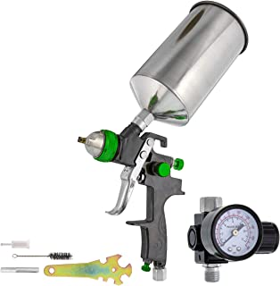 TCP Global Brand Professional New 2.5mm HVLP Spray Gun- Great for High Build Auto Paint..