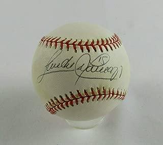 sandy alomar jr signed baseball