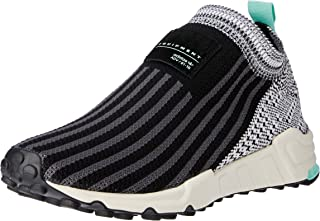 adidas WoMen's EQT Support Sock 1/3 PK Shoes, Core Black/Footwear White/Clear Mint, 5.5 US (5.5 AU)