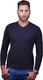 BOCARED Long Sleeve V-Neck Kurt Men's T-Shirt