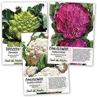 Best colored cauliflower seeds Reviews