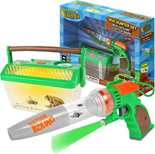 Nature Bound Bug Catcher Vacuum with Light Up Critter Habitat Case for Backyard Exploration - Complete kit for Kids