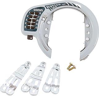 ゴリン(GORIN) ボタン式リング錠 シルバー GR520-SL