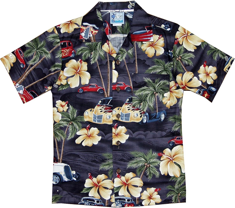RJC Boys Hibiscus Drag Racer Shirt