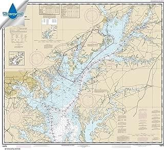 Paradise Cay Publications NOAA Chart 12273: Chesapeake Bay Sandy Point to Susquehanna River 35.5 x 39.5 (WATERPROOF)