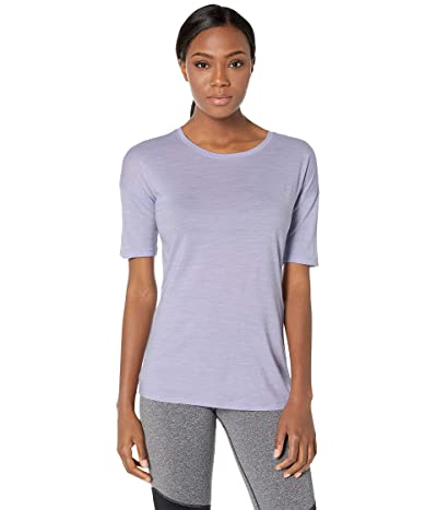 Smartwool Merino Sport 150 Short Sleeve (Cascade Purple Heather) Women