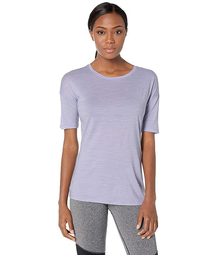 Smartwool Merino Sport 150 Short Sleeve (Cascade Purple Heather) Women