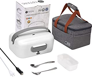 Sponsored Ad - YOTENG Electric Lunch Box 75W Heated Lunch Boxes For Car/Truck / Home, Self Heating Lunch Box Leak Proof Po...