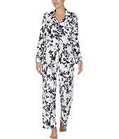 Stretch Velour Sleepwear Pajama Set