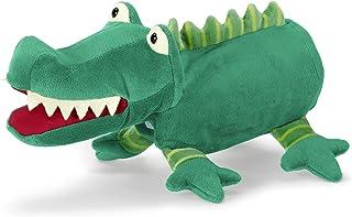 Sterntaler 36352 Handdocka krokodil, 22 x 30 x 10 cm, grön