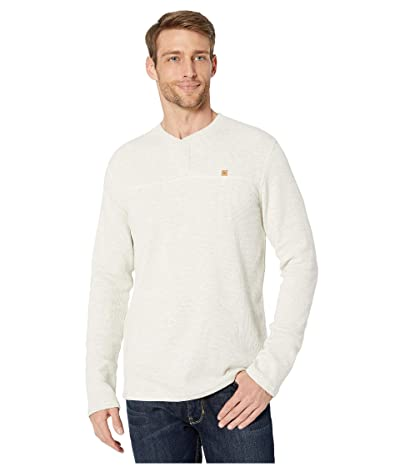 tentree Bowden Long Sleeve Henley (Elm White Heather) Men