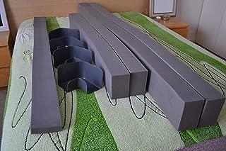 Deelz4Less Used Select Comfort Sleep Number Eastern Regular King Size Side Rails Border Foam Walls 6