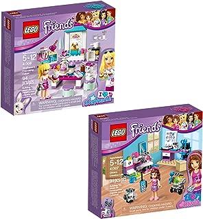 LEGO Friends Olivia & Stephanie 66569 Building Kit Bundle (185 Piece)