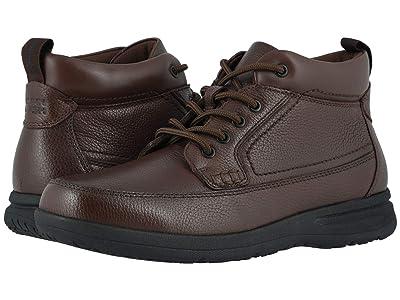 Nunn Bush Cam Moc Toe Boot (Brown Tumbled) Men