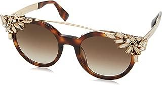 Vivy/S Sunglasses-0BHZ Havana Rose Gold (JD Brown Gradient Lens)-51mm