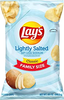 Lay's Potato Chips, Lightly Salted, 9.5 Ounce