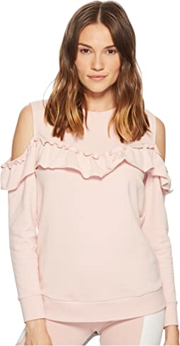 Kate Spade New York Athleisure Cold Shoulder Sweatshirt