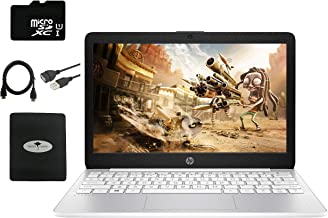 """2020 Newest HP Stream 11.6"""" HD Laptop for Business and Student, Intel Celeron N4000 (up to 2.6GHz), 4GB RAM, 64GB eMMC, We..."""
