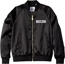 Moschino Kids - Jacket w/ Sequin Teddy Bear on Back (Big Kids)