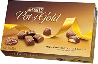 Hershey's Pot of Gold Milk Chocolate Collection, 10-Ounce Boxes (Pack of 2)