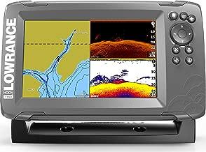 Lowrance HOOK2 Fish Finder/Depth Finder with SplitShot Transducer and Preloaded Mapping (Certified Refurbished)
