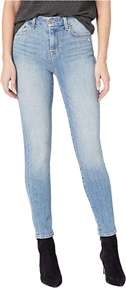 High-Waisted Ankle Skinny in Sanded Lite
