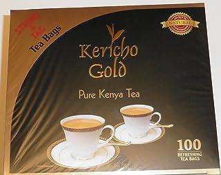 Kericho Gold Pure Kenya Black Tea 2 Packs Each 100 Tea Bags