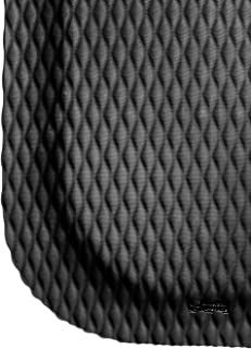 M+A Matting 421 Nitrile Rubber Hog Heaven Anti-Fatigue Mat with Black Border, 6' Length x 4' Width x 5/8
