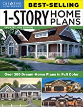 Download Best-Selling 1-Story Home Plans, Updated 4th Edition: Over 360 Dream-Home Plans in Full Color (Creative Homeowner) Craftsman, Country, Contemporary, and Traditional Designs with 250+ Color Photos PDF