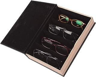 mittelbraun Fleur Royale Brillenbox Mehrbrillenetui Brillenetui Traveler f/ür bis zu 6 Brillen Gr/ö/ße 180x240x83mm robust /& edel /…