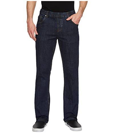 NBZ(r) Elastic Waist Straight Leg Jean in Electric Blue (Electric Blue) Men
