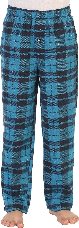 Gioberti Boys Yarn Dye Max 88% OFF Brushed Lounge wit Flannel Pajama Pants Max 74% OFF