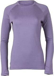 Ridge Merino Women's Inversion Heavyweight Crew Merino Wool Base Layer Shirt