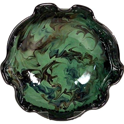 Amazing Cookware 20 cm Fluted Splashy Bowl, Green
