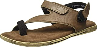 Woodland Men's Gd 1143112y15_Dirty Brown_9 Leather Outdoor Sandals-9 UK (43 EU) (10 US) 1143112Y15DIRTY