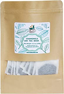 TeaDeam Tea Chamomile Tea Bags | Caffeine-Free & Sleep Time Tea | Chamomile Flowers Aroma - For Relieving Stress | Brew Ho...