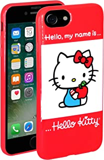 Hello Kitty iPhone Case for iPhone 7 and iPhone 8 - Slip On TPU Case Protects Your Phone