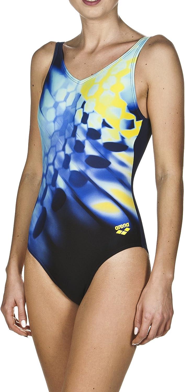 Arena Damen Sport Badeanzug Plumage (Schnelltrocknend, UV-Schutz UPF 50+, Chlor-  SalzwasserBesteändig) B077Y86FBV  Zu einem niedrigeren Preis