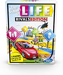 The Game of Life Rivals Edition Board Game; Head-to-Head 2 Player Game; Faster Gameplay Than Classic The Game of Life; Kid...