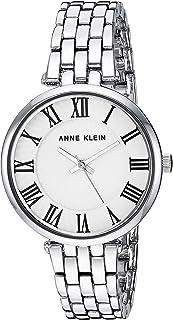 Anne Klein Women's AK/3323WTSV Silver-Tone Bracelet Watch
