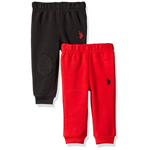 Blue Quiltex Baby boy 2 Pack Jogger Pants Red