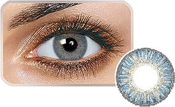 Qulista 2 PCS Lentillas de Colores Lentes de Contacto Naturales Nuevo Material Cómodo Diámetro 15mm