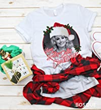Have a Holly Dolly Christmas - Country Music Inspired Southern Style Ink Printed Tee Shirt