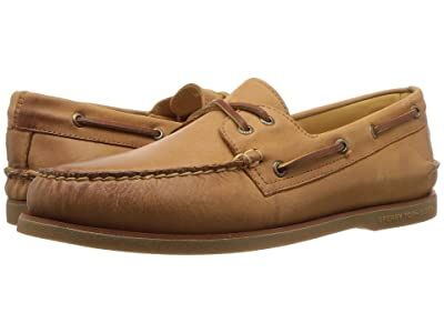 Sperry Gold Cup A/O 2-Eye (Tan) Men