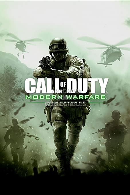 Amazon Com Primeposter Call Of Duty Modern Warfare Remastered Poster Glossy Finish Made In Usa Yext372 16 X 24 41cm X 61cm Posters Prints