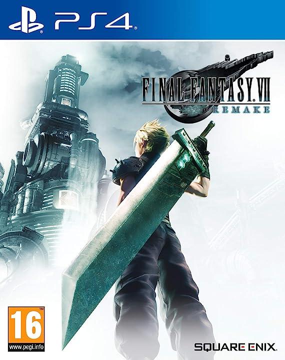 Final fantasy VII remake - playstation 4 [regno unito ediction] square enix SQEA32.UK.22ST