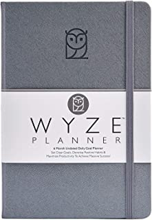 $27 » Wyze Planner - Goal Setting Planner to Increase Productivity and Achieve Personal and Business Goals. 6 Month Undated Dail...