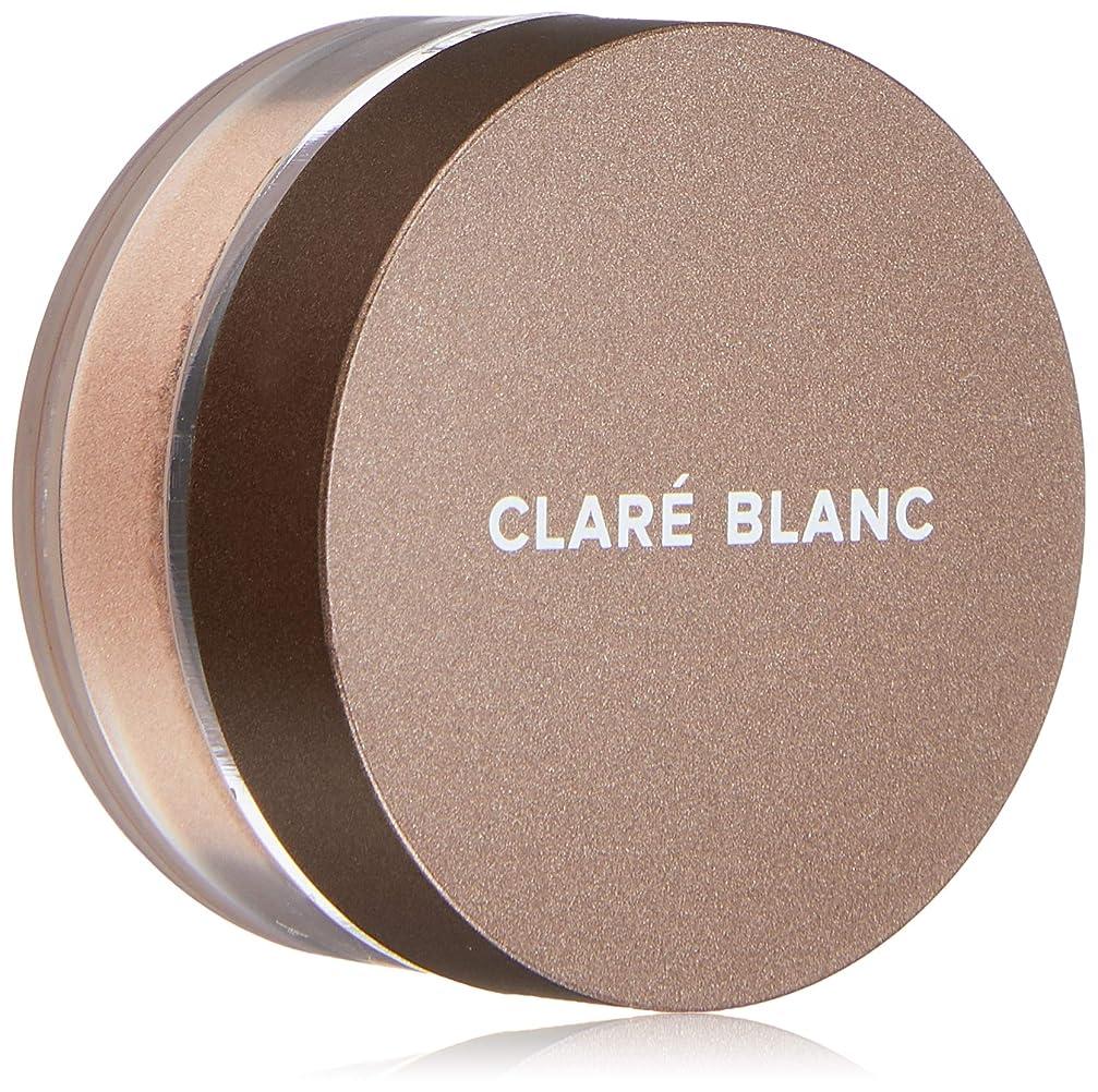 メタルライン組み合わせる人差し指CLARE BLANC(クラレブラン) ミネラルアイシャドウ 847 BARE
