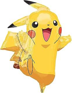 "Amscan SuperShape""Pikachu"" Foil Balloon, P38, packed, 62 x 78 cm"