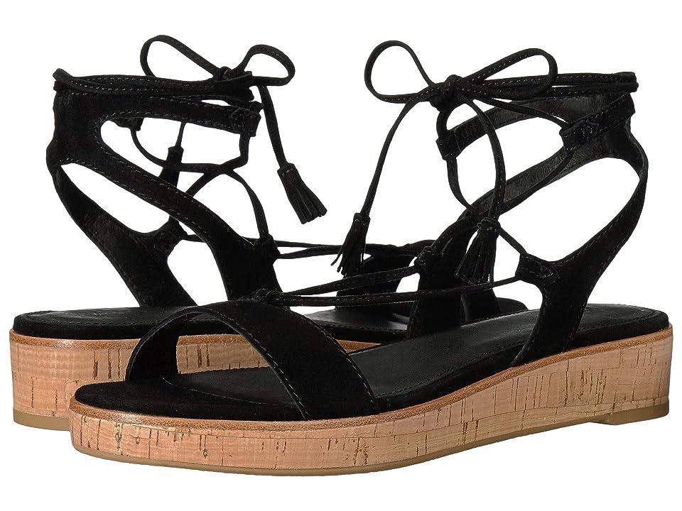 Frye Miranda Gladiator (Black Suede) Women's Dress Sandals